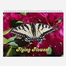 Flying Flower Wall Calendar