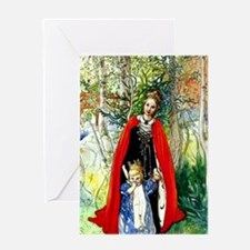 Carl Larsson: Spring Princess Greeting Card