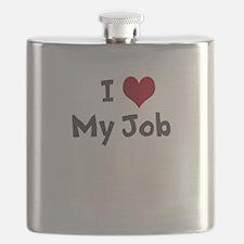 I Heart My Job Flask
