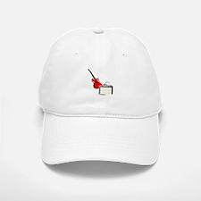 stylized guitar amp red. Baseball Baseball Baseball Cap