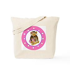 Dress Up Earrings & Handbag Monkey Tote Bag