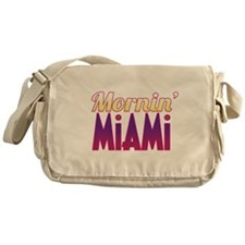 Mornin' Miami Messenger Bag