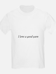 I Love a Good Yarn Kids T-Shirt