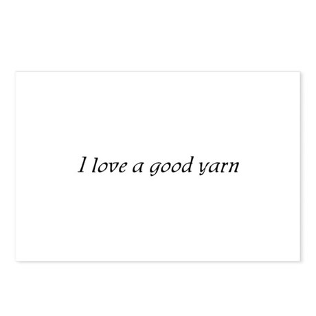 I Love a Good Yarn Postcards (Package of 8)