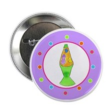 "Lava Lamp Polka Dots 2.25"" Button"