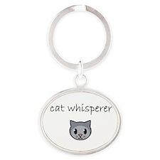 cat whisperer.PNG Keychains