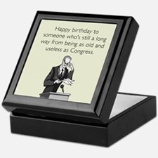 Useless As Congress Keepsake Box