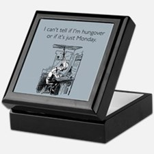 Monday Hangover Keepsake Box