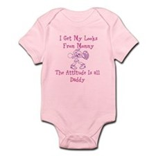 Pretty Like Mommy Infant Body Suit