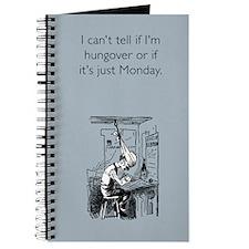 Monday Hangover Journal