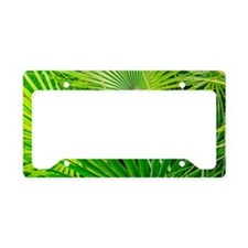 Fan Palm Forest License Plate Holder