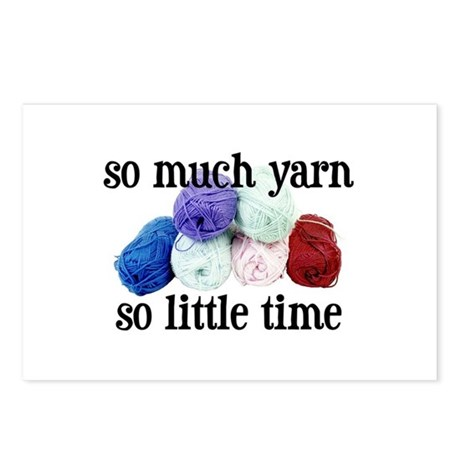 So Much Yarn, So Little Time Postcards (Package of