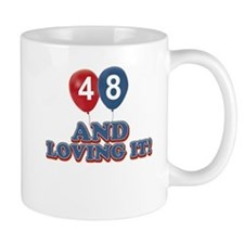 48 and loving it designs Mug