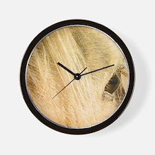 Messy Mane Wall Clock