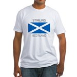Stirling Scotland Fitted T-Shirt