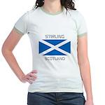 Stirling Scotland Jr. Ringer T-Shirt
