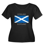 Stirling Scotland Women's Plus Size Scoop Neck Dar