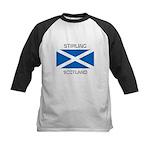 Stirling Scotland Kids Baseball Jersey