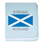 Stirling Scotland baby blanket
