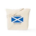 Stirling Scotland Tote Bag
