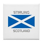 Stirling Scotland Tile Coaster