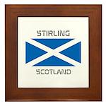 Stirling Scotland Framed Tile