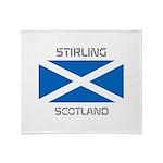 Stirling Scotland Throw Blanket