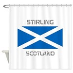 Stirling Scotland Shower Curtain