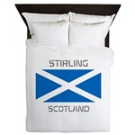 Stirling Scotland Queen Duvet