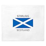 Stirling Scotland King Duvet