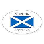 Stirling Scotland Sticker (Oval)