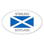Stirling Scotland Sticker (Oval 50 pk)