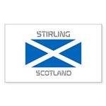Stirling Scotland Sticker (Rectangle 10 pk)
