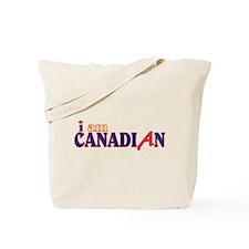 I Am Canadian Tote Bag