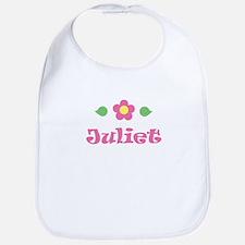 """Pink Daisy - """"Juliet"""" Bib"""