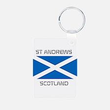 St Andrews Scotland Keychains