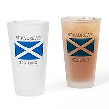 St Andrews Scotland Drinking Glass