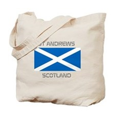 St Andrews Scotland Tote Bag