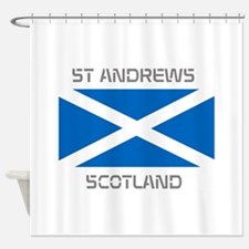 St Andrews Scotland Shower Curtain