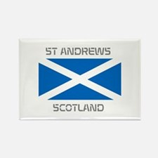 St Andrews Scotland Rectangle Magnet