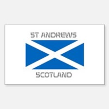 St Andrews Scotland Decal