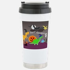 Happy Halloween Dinosaurs Kids Travel Mug