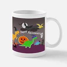 Happy Halloween Dinosaurs Kids Mugs