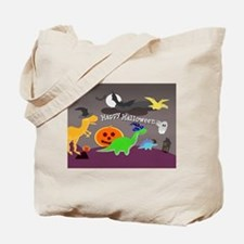 Happy Halloween Dinosaurs Kids Tote Bag