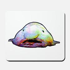 Blobfish, Psychrolutes marcidus Mousepad