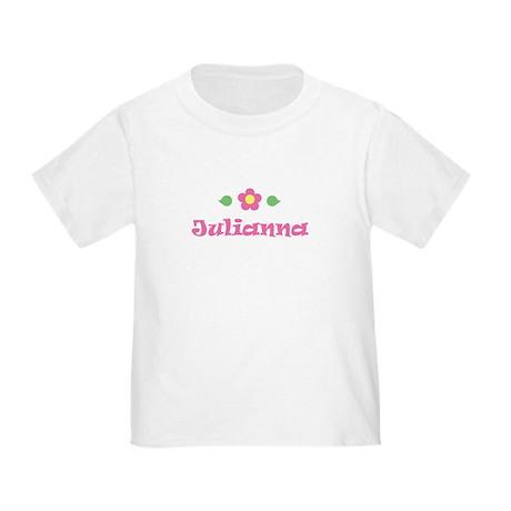 """Pink Daisy - """"Julianna"""" Toddler T-Shirt"""