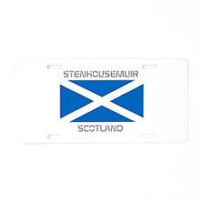 Stenhousemuir Scotland Aluminum License Plate