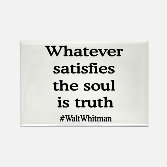 Soul Truth Rectangle Magnet