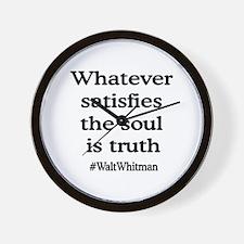 Soul Truth Wall Clock
