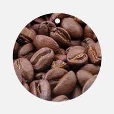 coffee beans Ornament (Round)